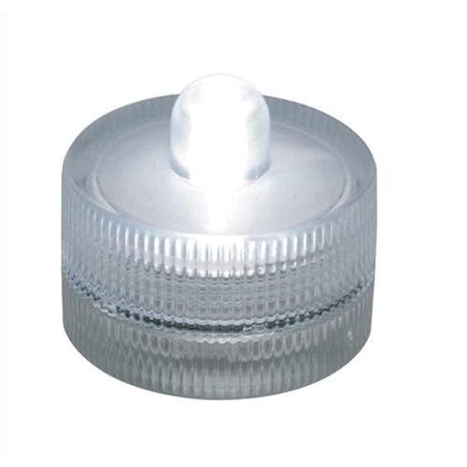 10 miếng nhỏ màu đỏ vòng lặn pin dẫn trà ánh sáng không thấm nước đám cưới bằng sáng chế ao đài phun