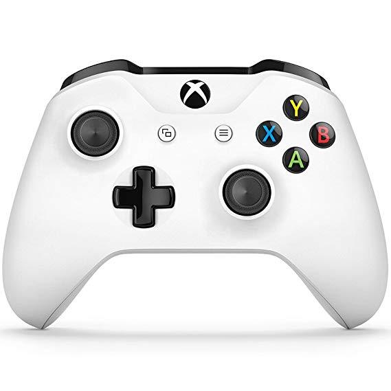 Microsoft Microsoft Bộ điều khiển không dây Xbox / Xử lý màu trắng (với đầu nối tai nghe 3,5 mm) TF5