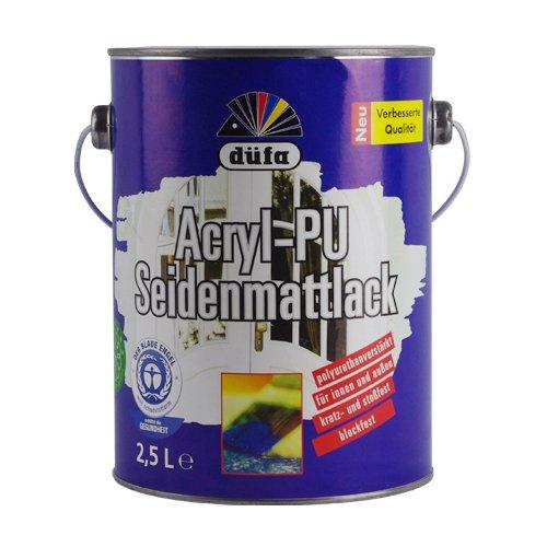 Dufa Đức Dufang Đầy đủ thân thiện với môi trường bằng gỗ nước sơn PU 2.5L sơn gỗ Sơn nước Sơn sơn
