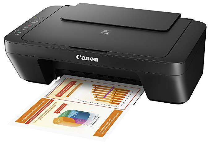 Canon Canon Pixma MG2555S Thiết bị đa chức năng in phun màu (Máy quét Máy in Máy Photocopy USB) Đen