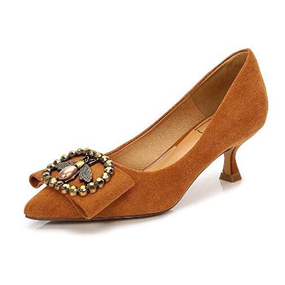 Giày Búp Bê cao gót nữ , Hiệu : Xia Xueer .
