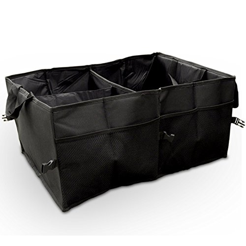 Túi  Đựng Đồ Có Nhiều Ngăn , chống nước có thể gập lại màu đen .