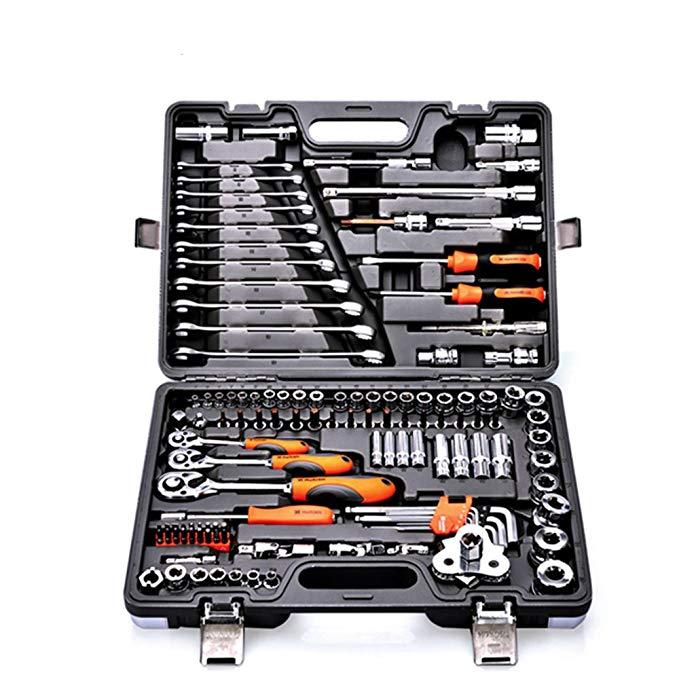 Harden Hanton 120 + 2 sửa chữa máy sửa chữa ô tô kit công cụ sửa chữa công cụ ổ cắm cờ lê tự động sử