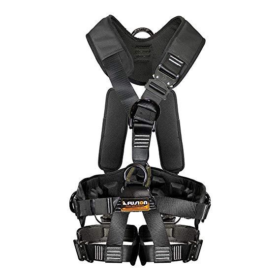 Fusion Trèo Tac GT Loại Chiến Thuật Full Body EVA Dày Heavy Duty Cáp Điều Chỉnh Cable Harness 23kN S