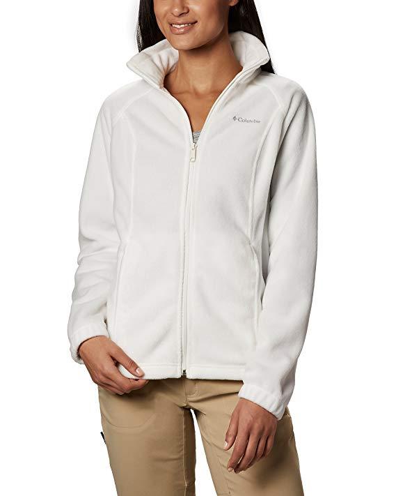 Phụ nữ Columbia BENTON suối nước đầy đủ Zip Fleece Jacket