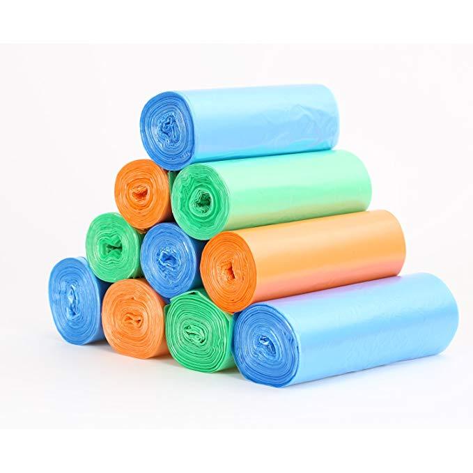 FaSoLa túi rác dày Lớn hộ gia đình di động dùng một lần vừa túi nhựa bán buôn vest loại Ba-pack (poi