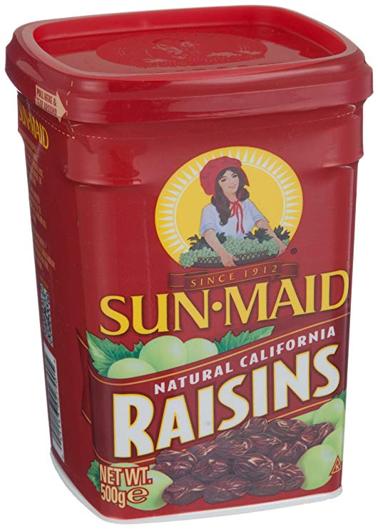 Sun Maid Sunshine Girl California Raisin đóng hộp 500g (Hoa Kỳ nhập khẩu)