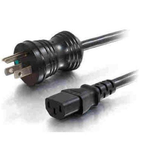 C2G / cáp để đi 8FT 5-15P-C13 18AWG thay thế dây nguồn màu đen