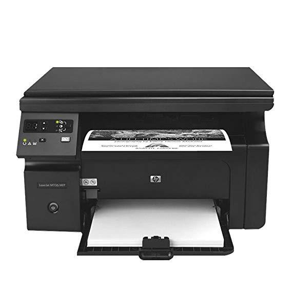Máy in laser màu đen và trắng HP m1136 đa chức năng quét ba-trong-một