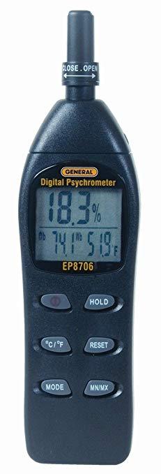 Công cụ chung EP8706 Digital Psychrometer