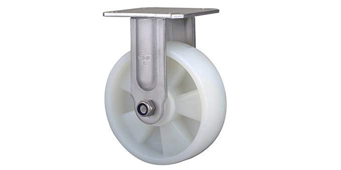 Dễ dàng để làm việc bánh thép không gỉ nặng nhiệm vụ 6 inch 420kg định hướng nylon (pa) bánh S7106-2
