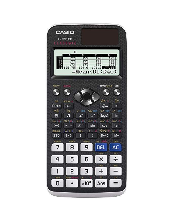 Casio FX-991EX Kỹ thuật / Máy tính khoa học, Đen