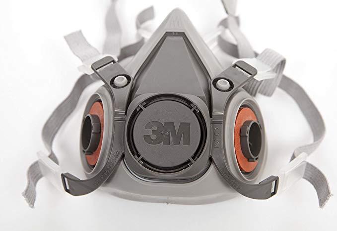 Mặt nạ bảo vệ nửa mặt 3M 6200 Mặt nạ chống bụi, chống khí và phân nửa mặt nên được sử dụng cùng với