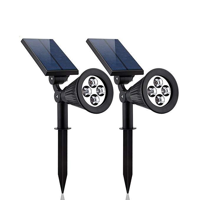 Moveski Movikai Lawn Lights Đèn cảnh quan Đèn sân khấu FH0502C (1 Pack) Đèn LED năng lượng mặt trời