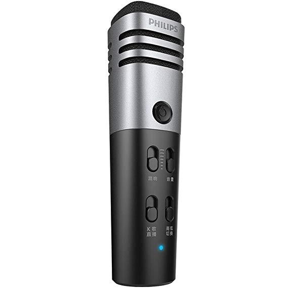 Philips Philips Quốc gia karaoke microphone DLK38001 Điện thoại di động microphone hát toàn bộ máy c