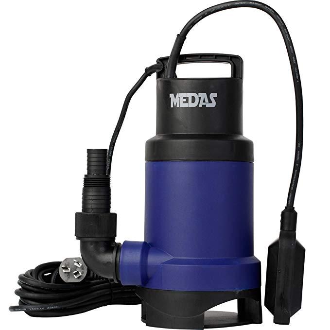 Medas Medas 350 wát bơm / thoát nước nước thải float chuyển bơm thông minh bơm hai mục đích QDD7.5-6