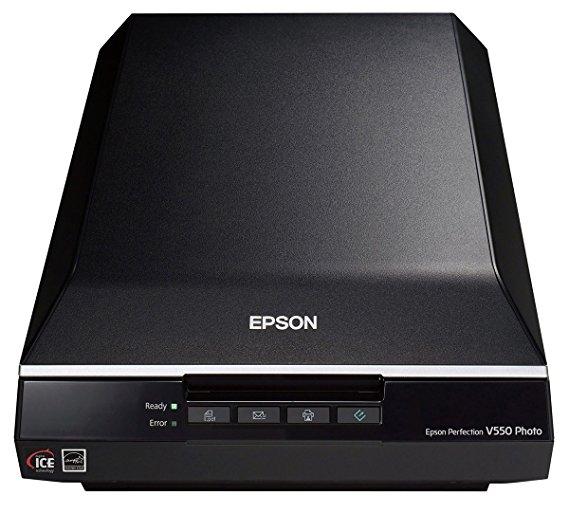 Epson Epson Perfection V550 ảnh màu, hình ảnh, phim, máy quét tài liệu 6400 DPI (B11B210201)