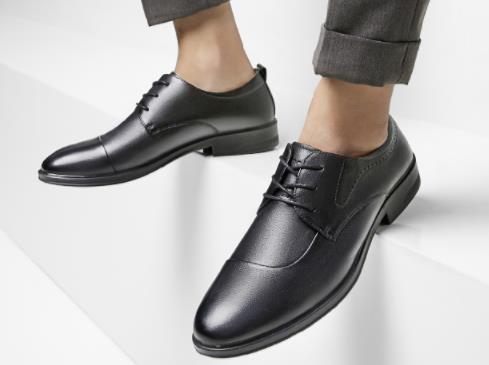 Thương hiệu: YEARCON - Giày Tây đế mềm da thật , Dành cho nam kinh doanh , giày công sở