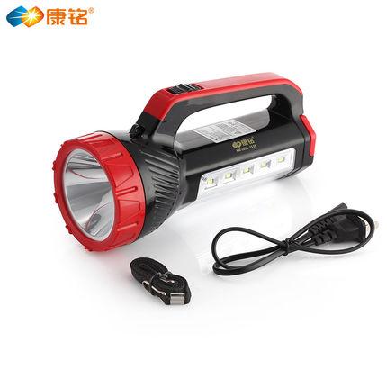 Kang Ming led siêu sáng đèn pin ngoài trời chói tầm xa xách tay searchlight sạc nhà tuần tra đa chức