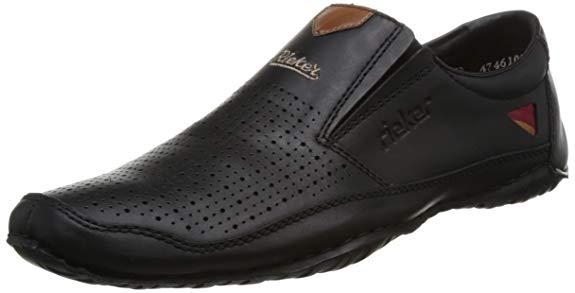 Giày mọi Gommino Bằng Da mềm dành cho Nam , Thương hiệu : Rieker  - 6357.
