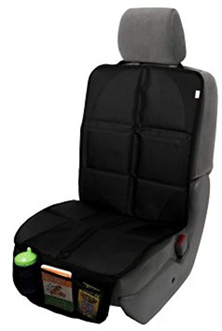 Drap bọc ghế xe hơi với thiết kế thông minh bọc vải lưới phía dưới để đựng đồ .