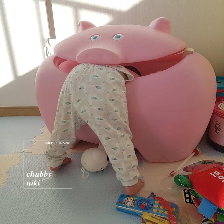 Thùng nhựa INS Bắc Âu kiểu quần áo đồ chơi trẻ em Hàn Quốc tiếp nhận lại người đàn ông và phụ nữ trẻ