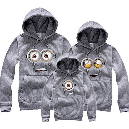 Thời Trang cho Gia đình : Áo thun hoodie tay dài cho cả nhà .