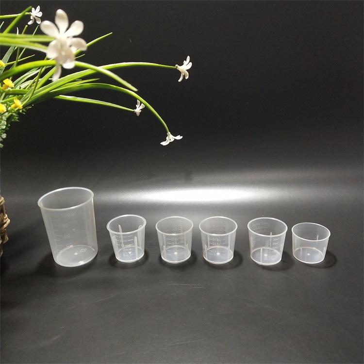 Cốc đo lường bằng nhựa Dụng cụ thí nghiệm