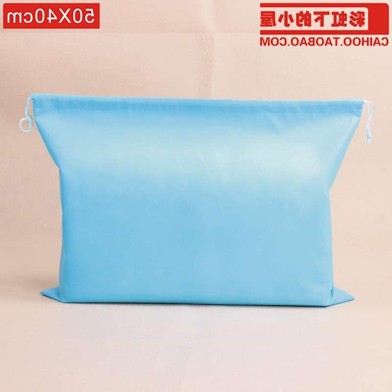 Túi vải không dệt Túi xách túi lấy túi hút dây chùm chống bụi chống ẩm túi túi vải thấm 10 một giả t