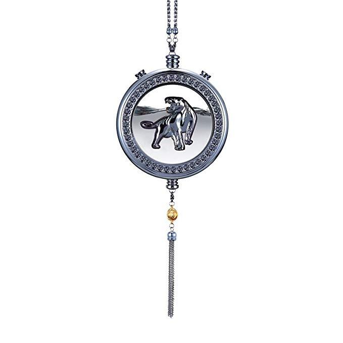 Osley Đồ trang trí móc treo 12 Zodiac Car Hương Mặt dây chuyền Hương thơm Trang trí Dầu thơm Mặt dây
