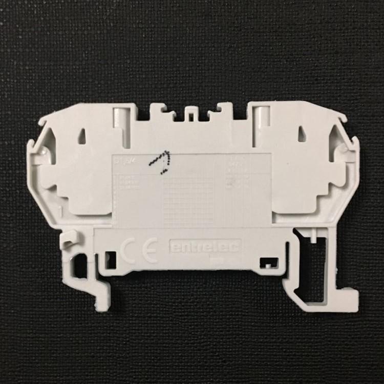 ABB Cầu đấu dây Domino hoàn toàn mới chính hãng khối kết nối lò xo D1.5 / 4.2L 85100511 4 vuông 2 lò