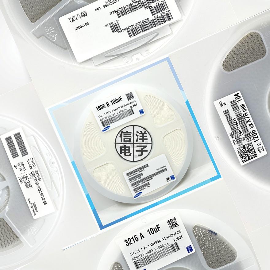Samsung Tụ Ceramic Tụ điện 1206 330PF 3.3NF 33NF 50V 100V 500V 330NF 3.3UF 25V