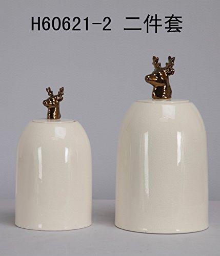 MSK Đồ trang trí bằng gốm sứ Home Pavilion, đồ trang trí gốm trang trí, mài mịn, đảm bảo chất lượng,