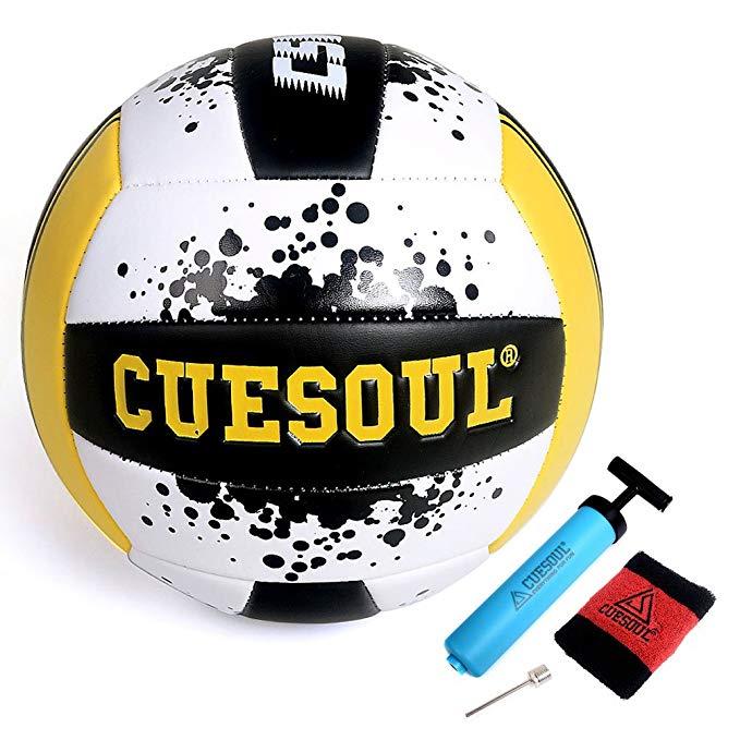 CUESOUL Q 5 thử nghiệm bóng chuyền bơm hơi bóng chuyền bóng chuyền bãi biển trong nhà và ngoài trời
