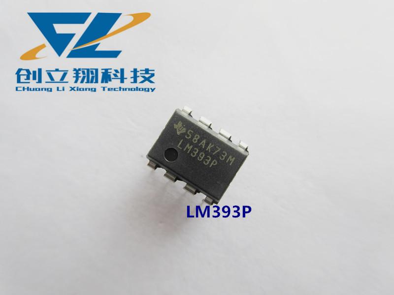 CHUANGLIXIANG IC TI Texas IC tích hợp mạch LM393 LM393P so sánh vi sai kép gốc DIP-8 nội tuyến