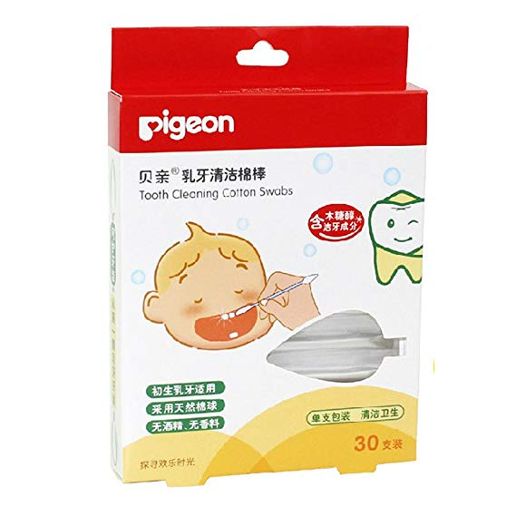 PIGEON Pigeon Baby Tooth Cleaning Cotton Stick KA06