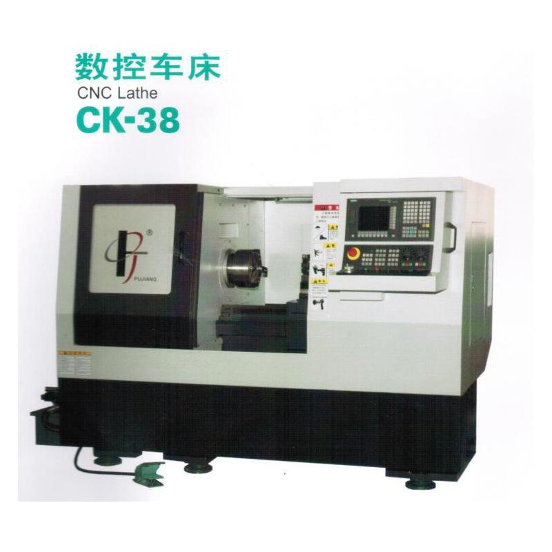 SHPG Máy tiện CNC Thượng Hải Spectrum Port CK-38 Máy tiện CNC Các nhà sản xuất máy tiện với mâm cặp