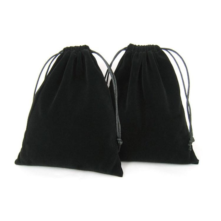 18 năm mới túi. Túi Nhung bó túi chống bụi túi thu nhỏ miệng lại kéo dây túi. Túi trang sức đồ trang