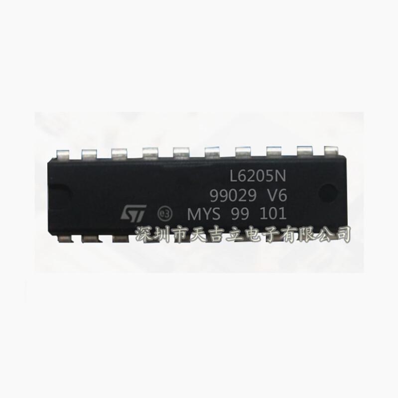 ST IC tích hợp IC mạch tích hợp ST Ý L6205N DIP-20