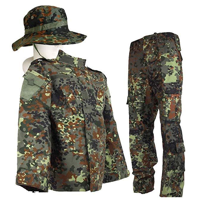 Bộ Đồ ngụy trang kiểu Lính dành cho Nam  .