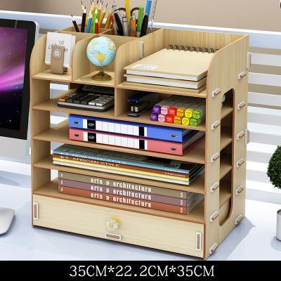 Hộp gỗ Văn phòng thu nạp hộp màn hình hồ chứa vật A4 bị văn phòng thông tin loại kệ tủ kệ gỗ