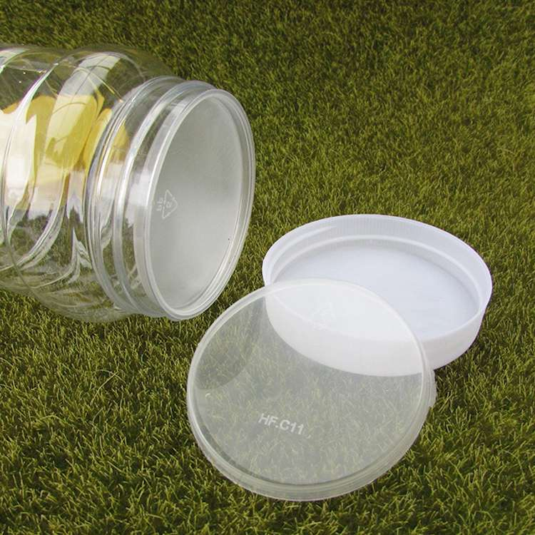 Một chai nhựa PET liệu mật chai 2.5 cân 2 cân rưỡi 1250 gram đóng hộp trong suốt dày của gói cái cha