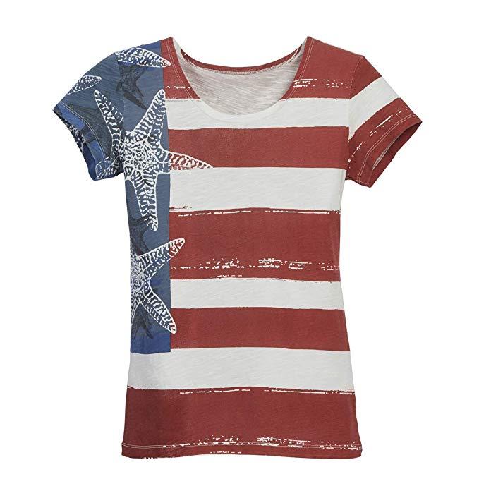 Áo Thun cotton thoải mái  dành cho nữ , Thương hiệu : Beachcombers .
