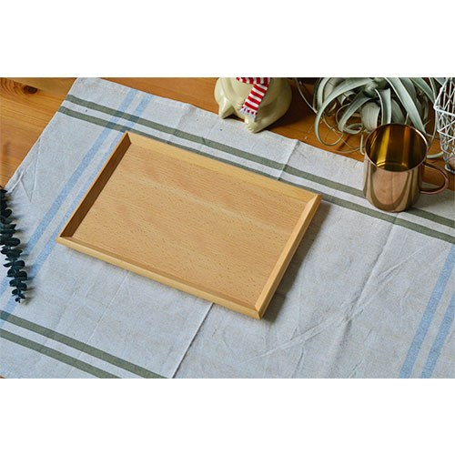 Mâm nhựa / Pallet nhựa 18 năm mới tự nhiên toàn gỗ thật đấy Quartet khay đĩa khay trà mâm đựng trái
