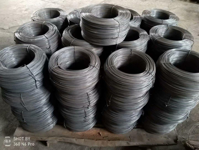 Dây kim loại Nhà máy sản xuất dây đen trực tiếp, dây bọc nhựa, dây sắt đen ủ, dây rút nguội, dây xây