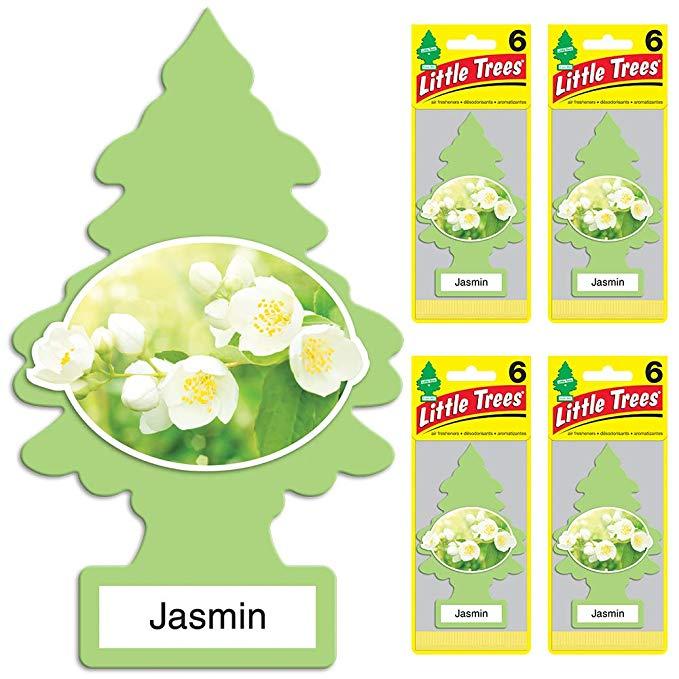 Little Plants nước hoa Jasmin Air Freshener, (Gói 24)