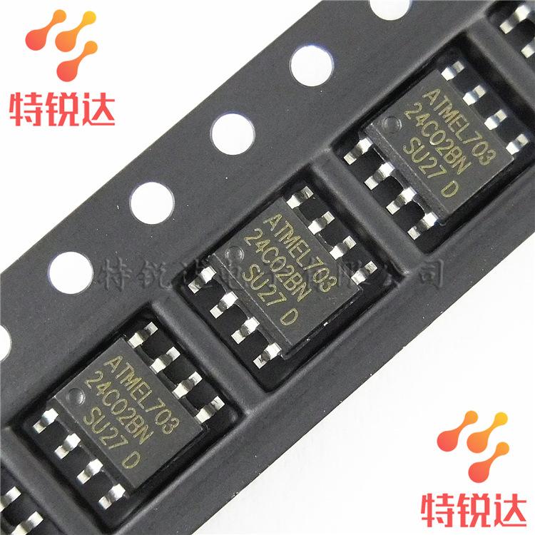 Atmel IC tích hợp AT24C02BN SOP-8 Chip nhớ Atmel / Atmel Tích hợp IC tám Chủ đề AT24C02N