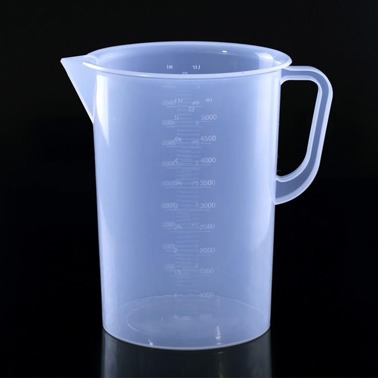 HENGGUANG Ống nghiệm Chấm 3000ml ml cốc đo nhựa 3L cốc đo dụng cụ nướng trong phòng thí nghiệm đặc b