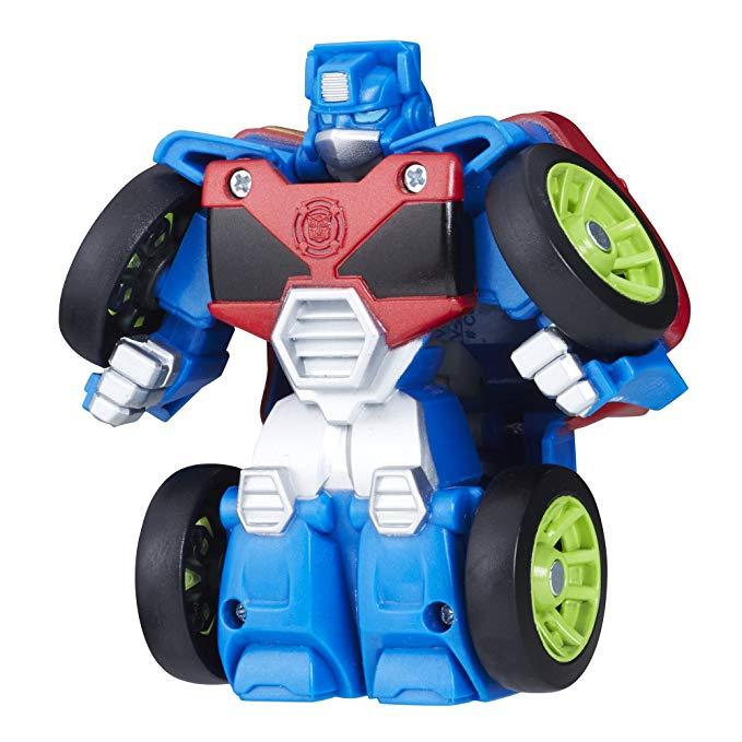 Playskool Hero Transformers Robot cứu hộ Flip RACERS Optimus Prime