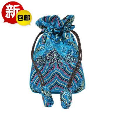 Cái túi nhỏ lẻ ví khóa mini - đơn giản là, kèn túi đồ trang sức đồ trang trí nghệ thuật mới mẻ Cẩm n